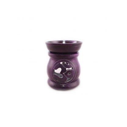 Aromalampe-Om-lila
