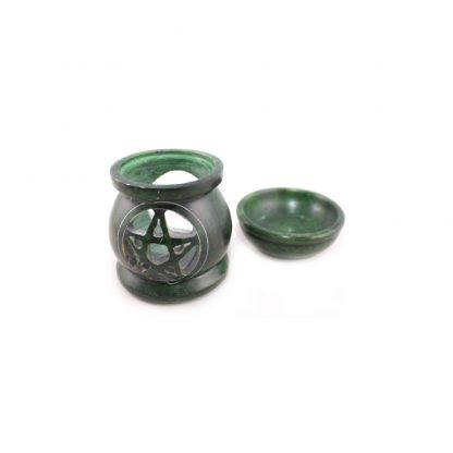Aromalampe-Pentagramm-grün-2