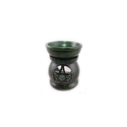Aromalampe-Pentagramm-grün