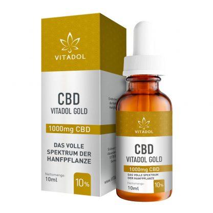 CBD-10-Öl-Vitadol-Gold
