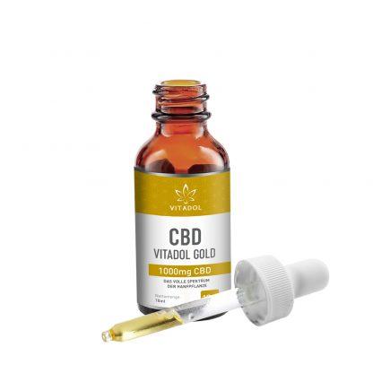 CBD-10-Öl-Vitadol-Gold-offen