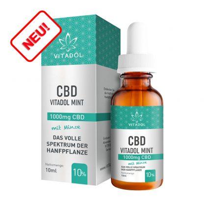 CBD-10-Öl-Vitadol-Mint